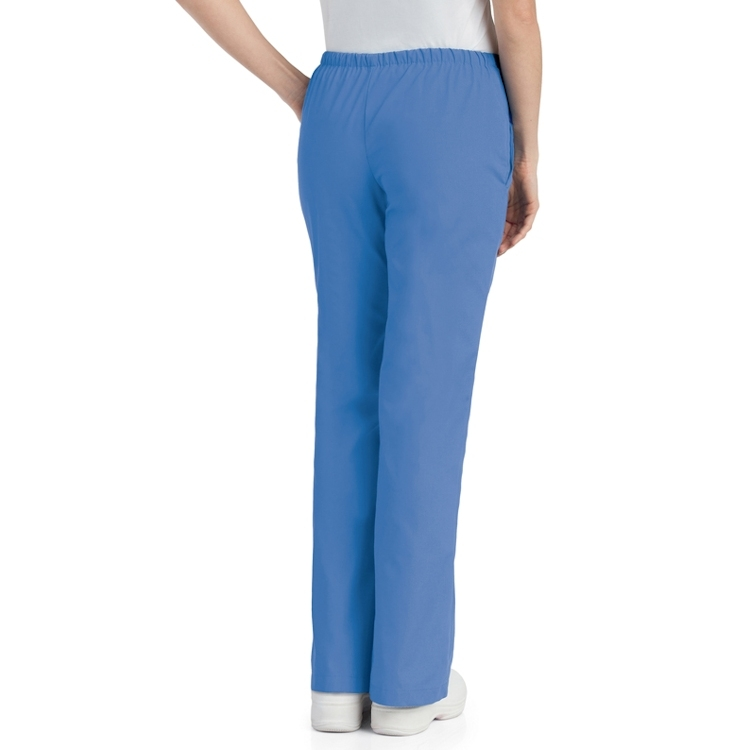Landau Women's Natural Fit Flare Leg Scrub Pant