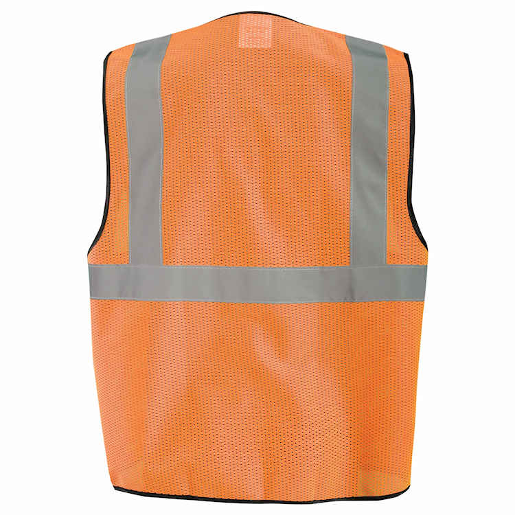 OccuNomix Value Mesh Safety Vest with Zipper - Class 2