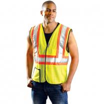 OccuNomix Premium Two-Tone Mesh Safety Vest - Class 2