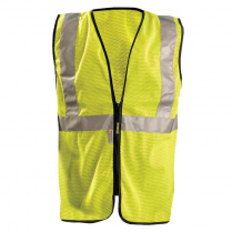 OccuNomix Premium Classic Mesh Safety Vest with Zipper - Class 2