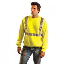 OccuNomix 6 oz. Lightweight Crew Neck Sweatshirt - Class 2