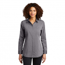 OGIO® Ladies' Long Sleeve Commuter Woven Tunic