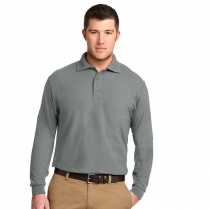 Port Authority® Silk Touch™ Long Sleeve Polo