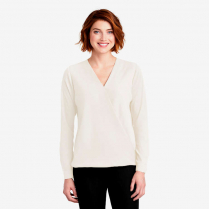 Port Authority ® Ladies' Wrap Blouse