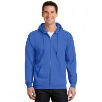 Port & Company® Essential Fleece Full-Zip Hooded Sweatshirt Sweatshirt