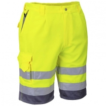 Portwest Hi-Vis Polycotton Short