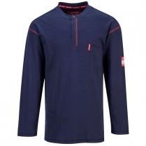 Portwest Bizflame Button Down Crew Shirt Flame Resistant ARC2