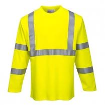 Portwest Flame Resistant ARC2 Long Sleeve T-Shirt