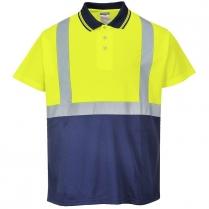 Portwest Hi-Vis Two-Tone Polo Shirt