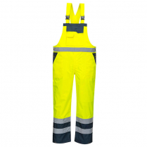 Portwest Contrast Bib and Brace - Unlined