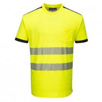 Portwest PW3 Hi-Vis Short Sleeve T-Shirt