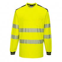 Portwest PW3 Hi-Vis Long Sleeve T-Shirt