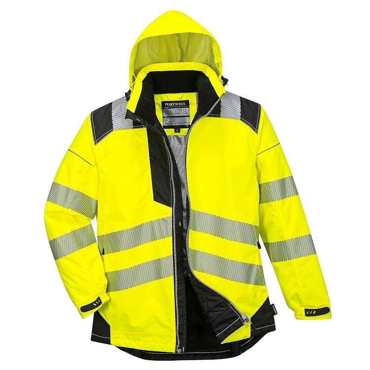 Portwest PW3 Hi-Vis Winter Rain Jacket