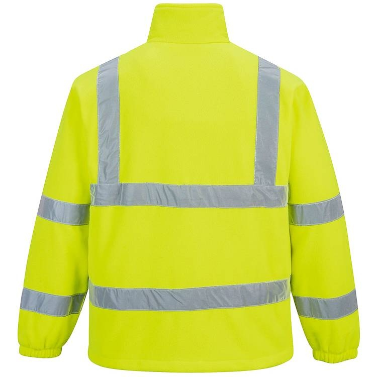 Portwest Hi-Vis Mesh Lined Fleece Jacket