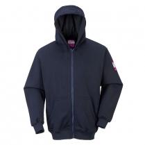 Portwest Flame Resistant Zipper Front Hooded Sweatshirt ARC2