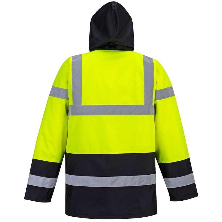 Portwest Hi-Vis Contrast Traffic Jacket