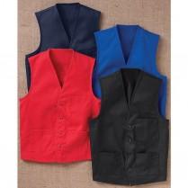 Chef Designs V-Neck Button Front Vest