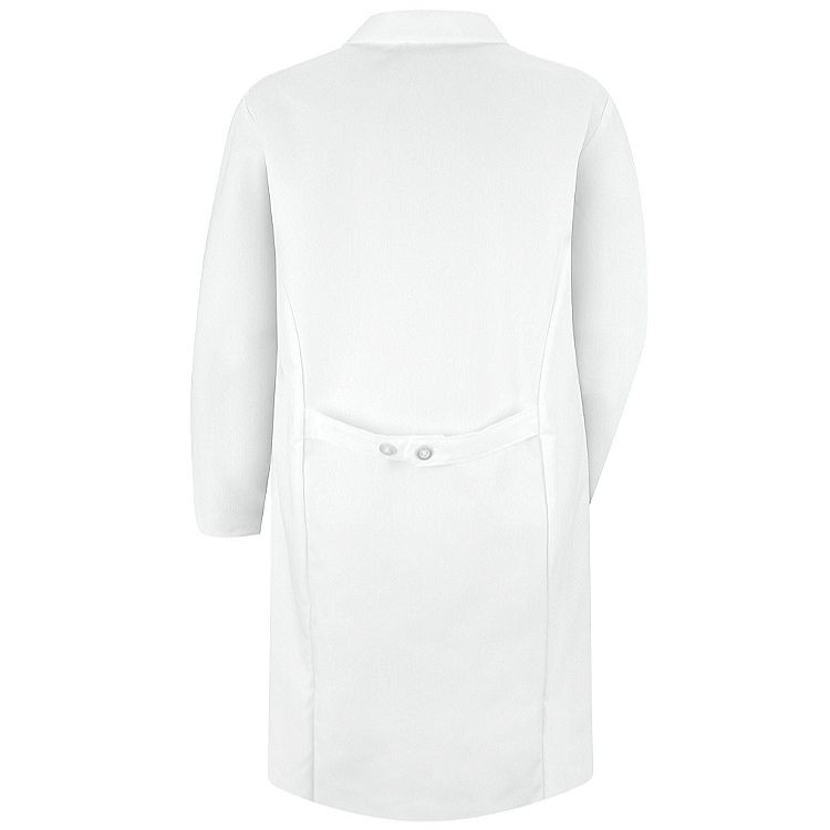 Red Kap Women's Lab Coat - Button Front