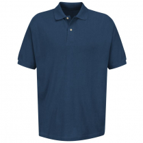 Red Kap Men's Basic Pique Polo Pocketless Shirt