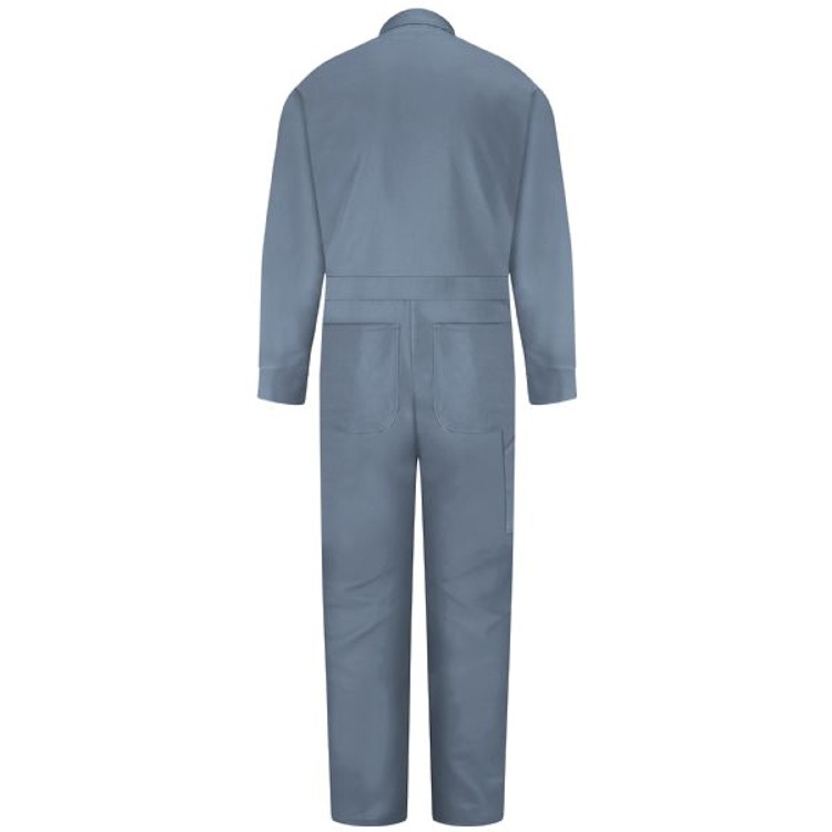 Red Kap 100% Cotton Coverall - Snap Front