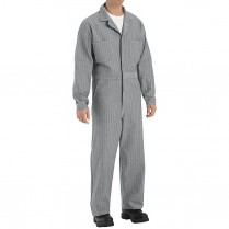 Red Kap 100% Cotton Coverall - Button Front