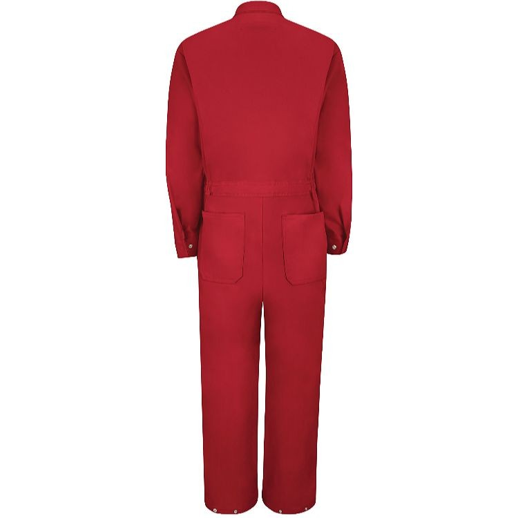 Red Kap 100% Cotton Coverall - Zip Front