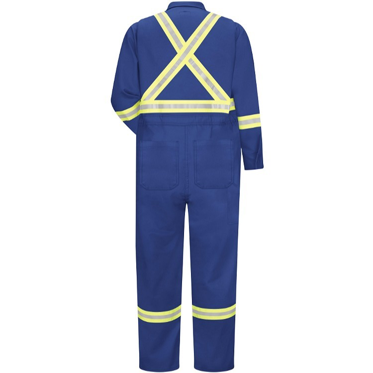 Bulwark Premium Coverall with Reflective Trim - Cooltouch 2 - 7.0 oz.