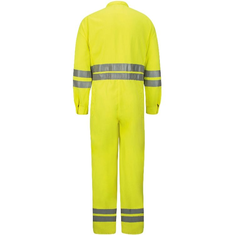 Bulwark CoolTouch 2 Hi-Vis Deluxe Coverall with Reflective Trim HRC2
