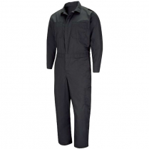 Red Kap Men's Performance Plus Lightweight Coverall With OilBLok Technology