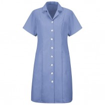 Red Kap Women's Short Sleeve Dress - Button Front
