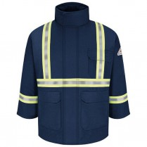 Bulwark Deluxe Parka with CSA Compliant Silver Reflective Trim Excel FR ComfortTouch HRC3