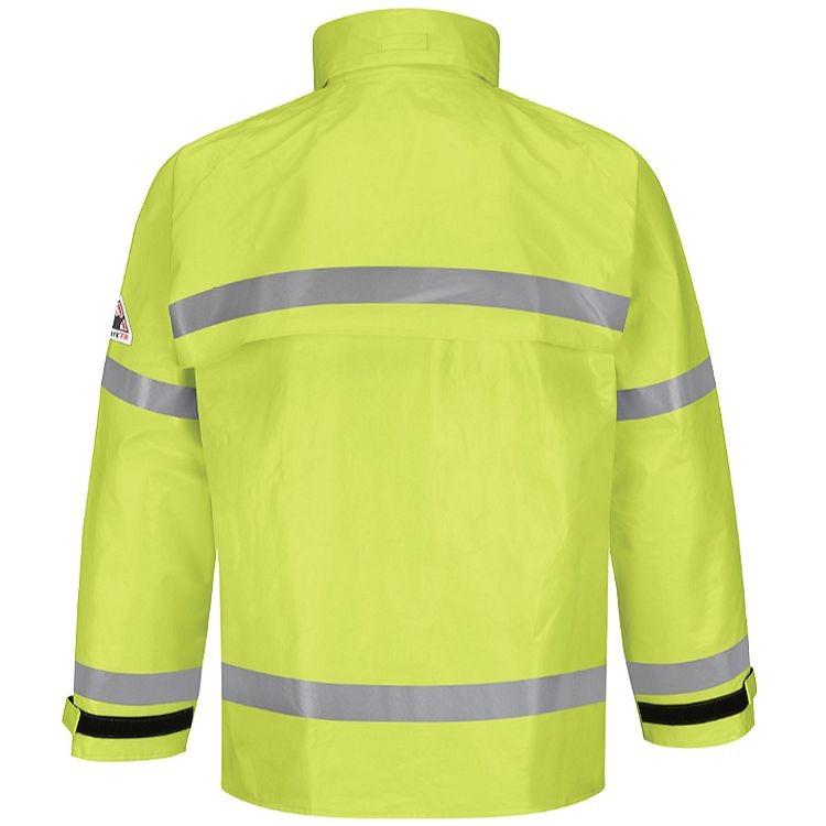 Bulwark FR Hi-Vis Breathable Rain Jacket HRC2
