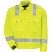 Red Kap Hi-Vis Class 2 Level 2 Ike Jacket
