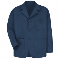 Red Kap Men's Lapel Counter Coat