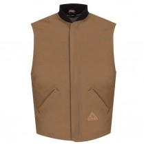 Bulwark FR Excel FR ComforTouch Brown Duck Vest Jacket Liner HRC4