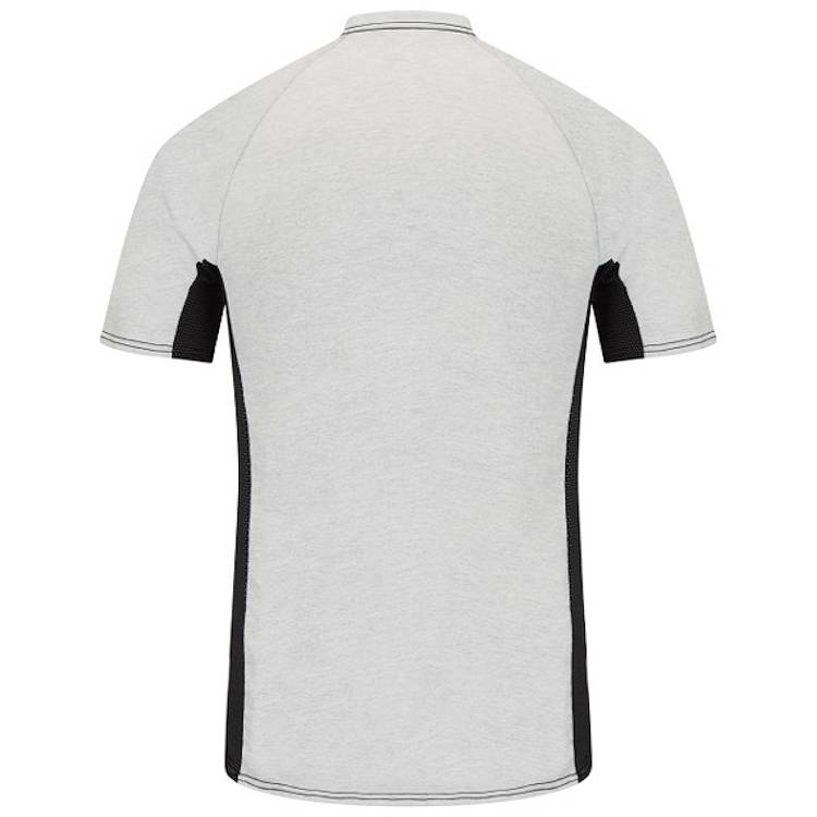 Bulwark Short Sleeve FR Two-Tone Base Layer with Concealed Chest Pocket- Excel FR HRC1
