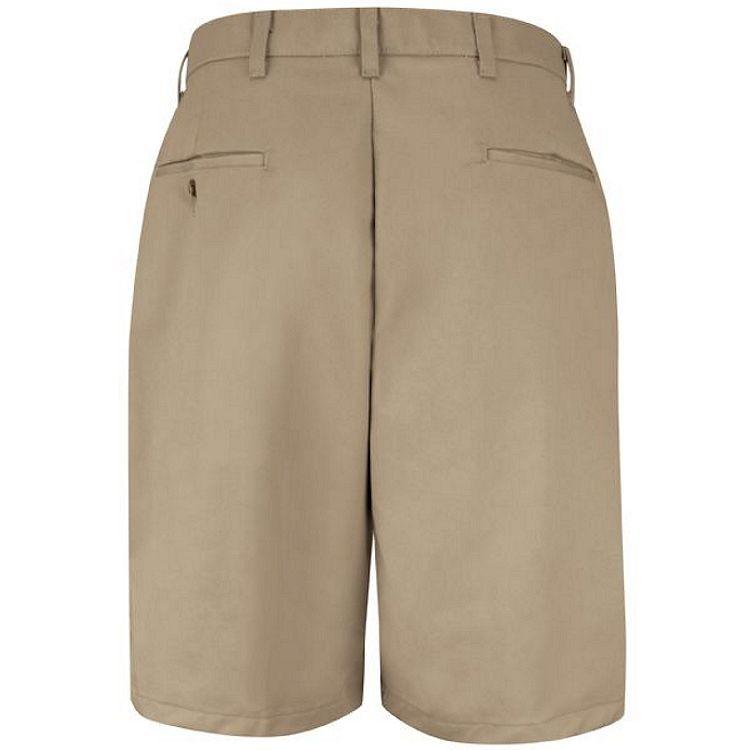 Red Kap Cotton Casual Plain Front Short