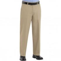 Red Kap Men's Plain Front Cotton Pant