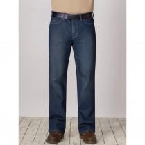 Bulwark Men's Excel FR Straight Fit Sanded Denim Jean - 12.5 oz. HRC2