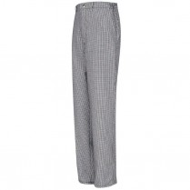 Chef Designs Spun Poly Checked Cook Pant