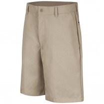 Red Kap Men's Plain Front Short