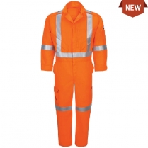 Bulwark Premium Coverall - iQ Series Endurance With CSA Compliant Reflective Trim HRC2