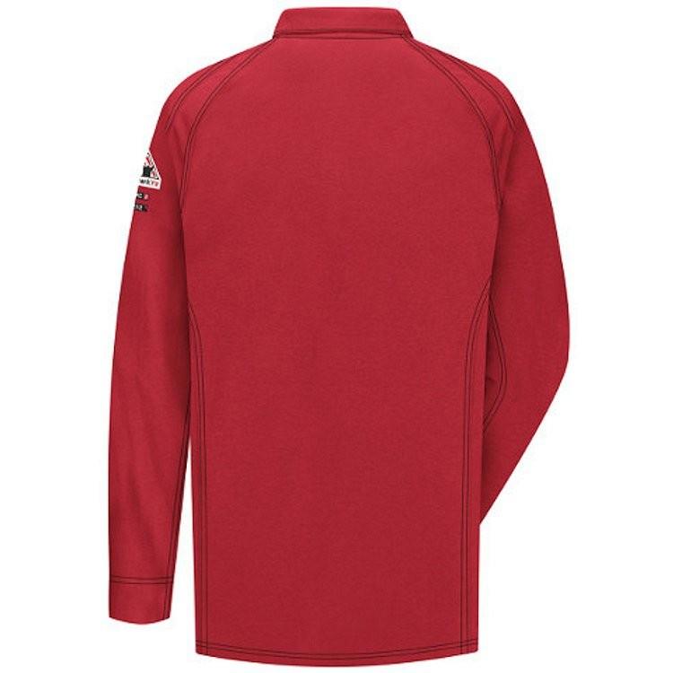 Bulwark iQ Series Long Sleeve Comfort Knit Polo HRC2