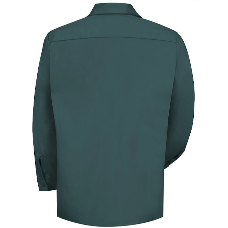 Red Kap Men's Wrinkle Resistant Cotton Long Sleeve Work Shirt