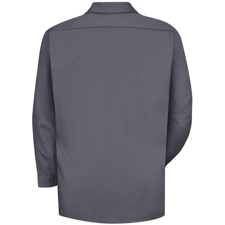 Red Kap Men's Deluxe Heavyweight Cotton Twill Long Sleeve Work Shirt