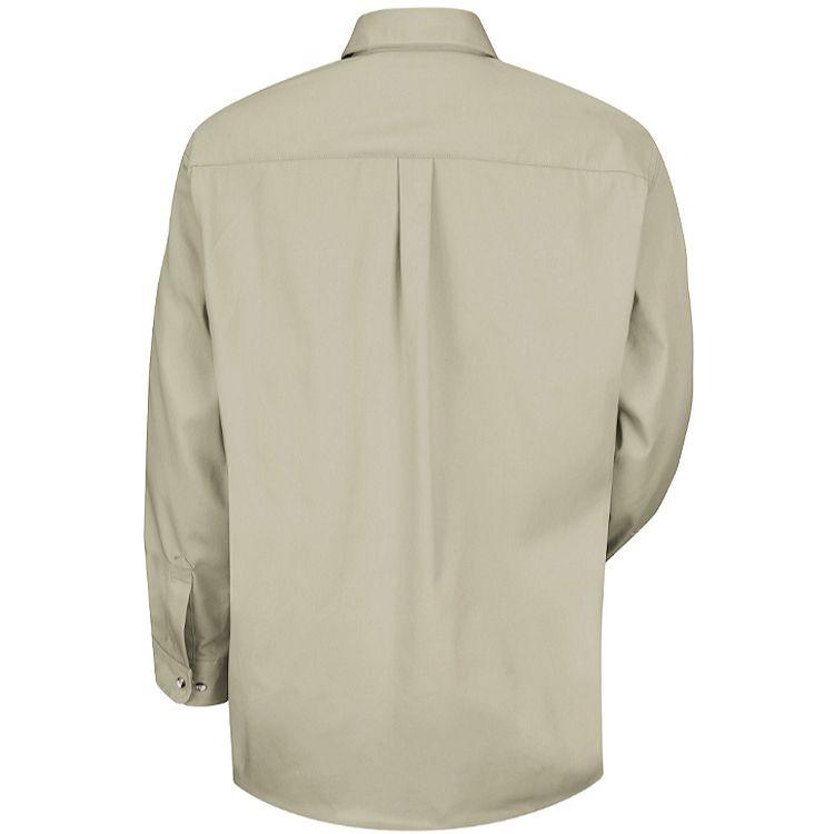 Red Kap Men's Cotton Contrast Long Sleeve Dress Shirt