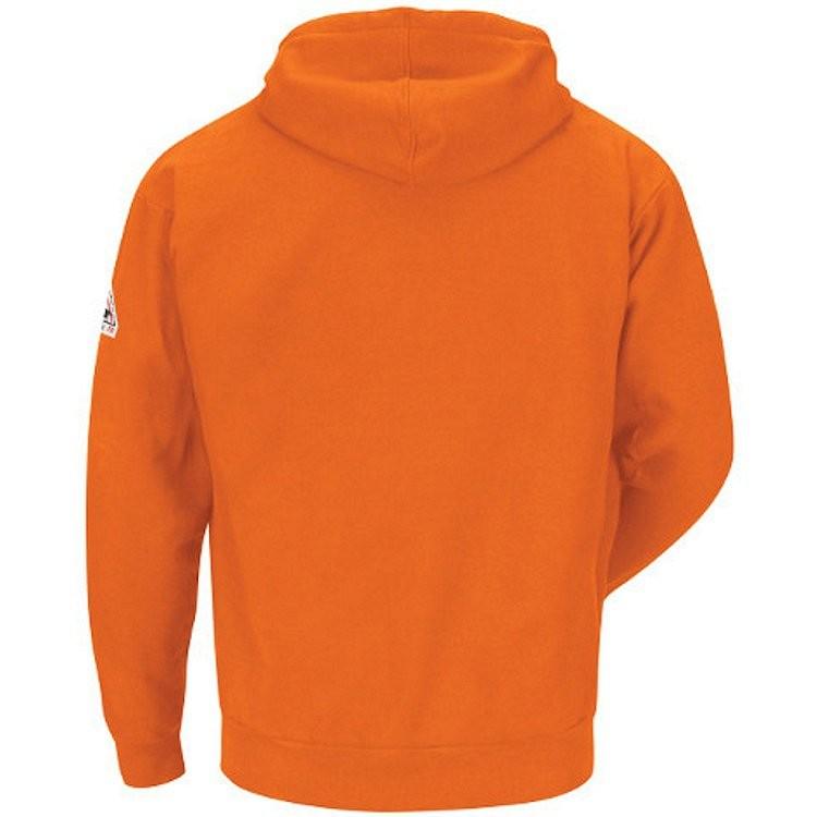 Bulwark FR Cotton/Spandex Blend Zip Front Hooded Sweatshirt HRC2