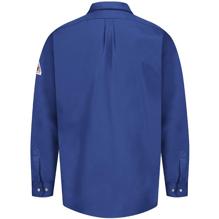 Bulwark FR Excel FR Snap Front Uniform Shirt - 7.0 oz. HRC1