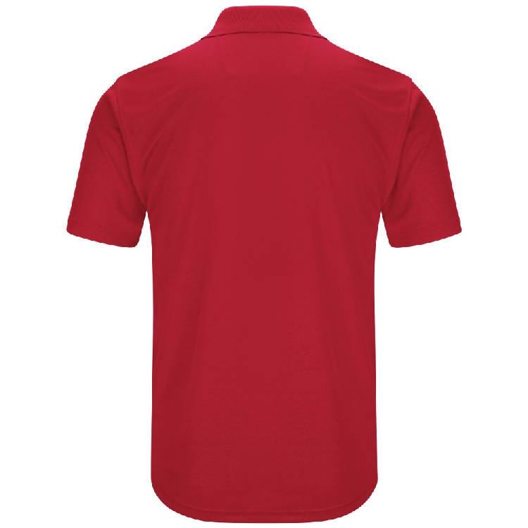 Red Kap Men's Short Sleeve Performance Knit Pocket Polo