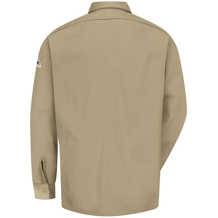 Bulwark FR Excel FR ComforTouch Button-Front Work Shirt - 7.0 oz. HRC2